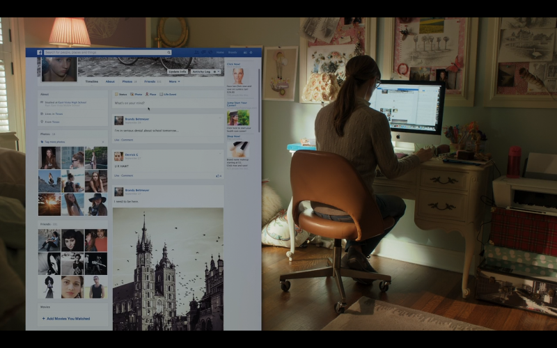 Apple iMac - Men, Women & Children (2014) Movie Product Placement