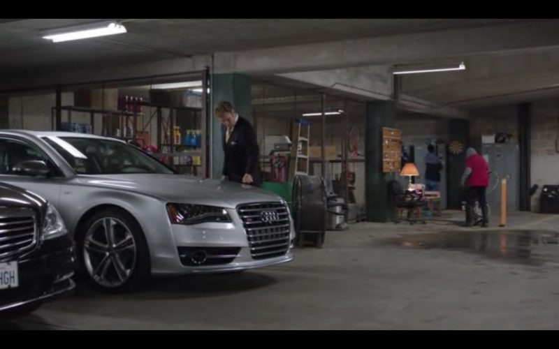 Audi A8 S-line - Get Hard (2015) - Movie Product Placement