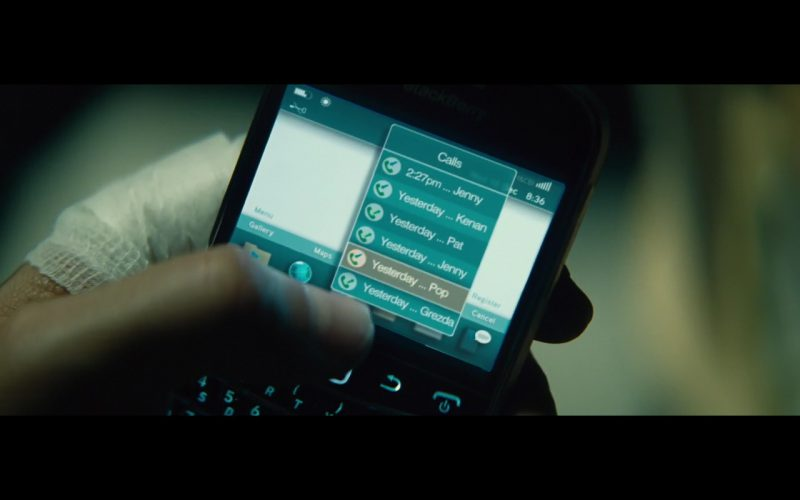 Blackberry - Run All Night (2015) - Movie Product Placement