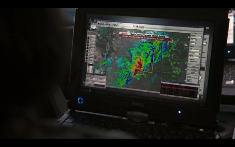 DELL XPS Notebook - Into the Storm (2014) - Movie Product Placement