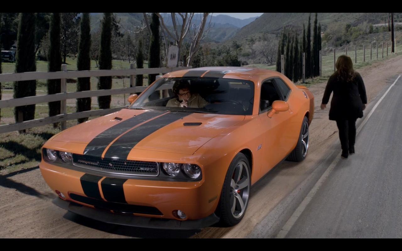 BMW Orange Park >> Orange Dodge Challenger in Mike & Molly TV Series TV Show