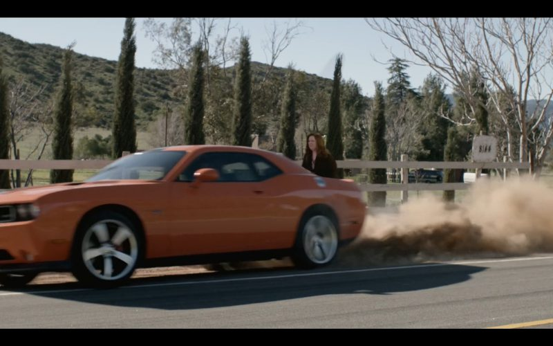 Orange Dodge Challenger In Mike Amp Molly Tv Series Tv Show