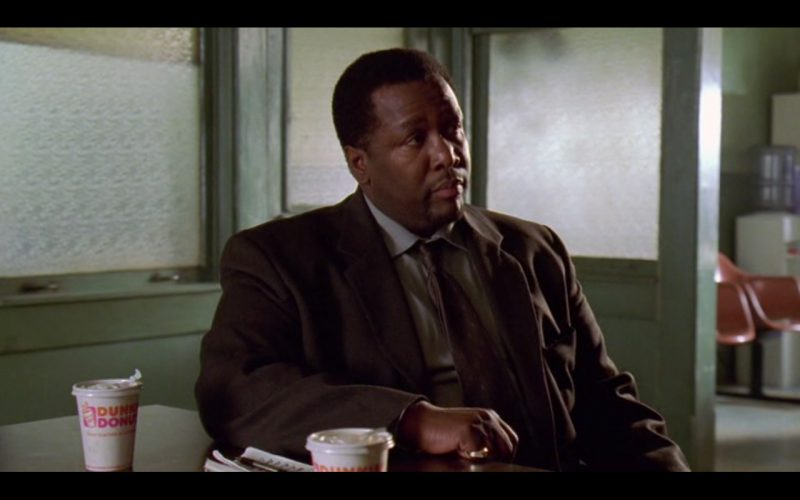 Dunkin' Donuts Coffee - The Wire - TV Show Product Placement