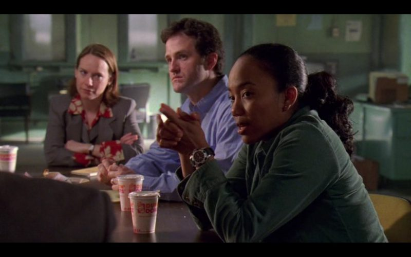 Dunkin' Donuts Coffee - The Wire TV Show Product Placement