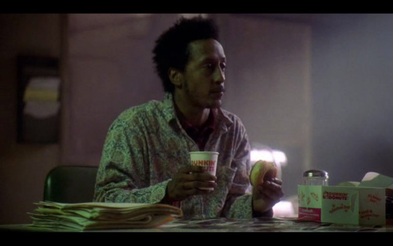 Dunkin' Donuts - The Wire - TV Show Product Placement