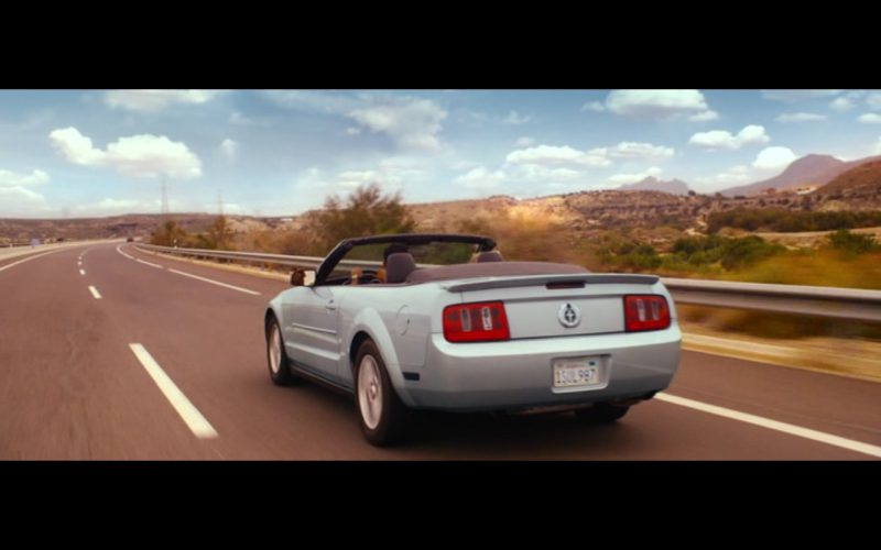 Ford Mustang - The Second Best Exotic Marigold Hotel (2015) Movie Product Placement