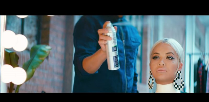 Frizz Ease Hairspray – RITA ORA – Poison - Official Music Video Product Placement