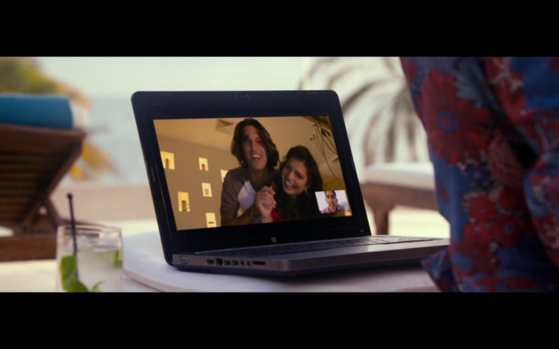 HP Notebook – The Second Best Exotic Marigold Hotel (2015) Movie Product Placement
