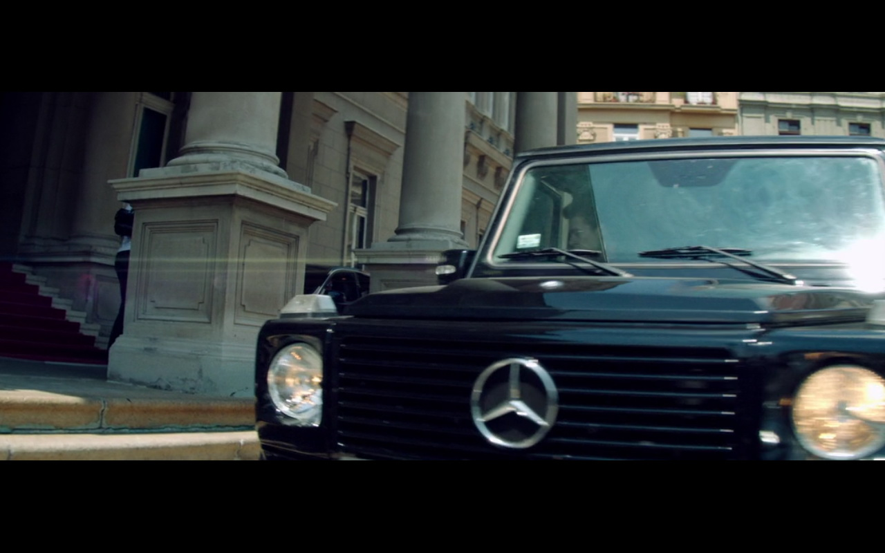 Mercedes benz g class the november man 2014 movie scenes for Mercedes benz g class 2015