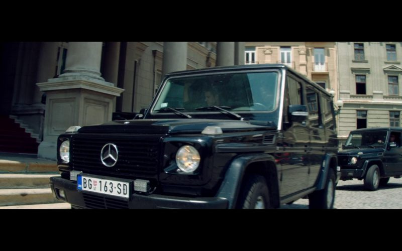 Mercedes-Benz G-Class - The November Man (2014) Movie Product Placement