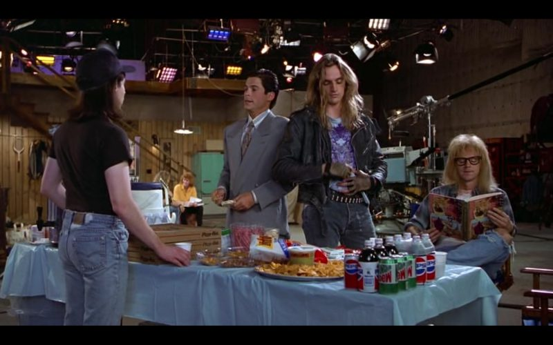 Mountain Dew and Pepsi - Wayne's World (1992) Movie Product Placement