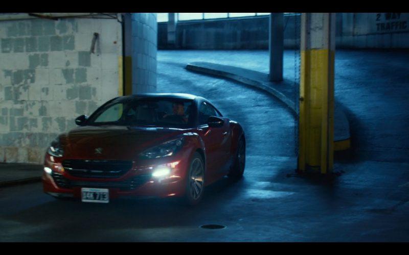 Peugeot RCZ - Focus (2015) Movie Product Placement