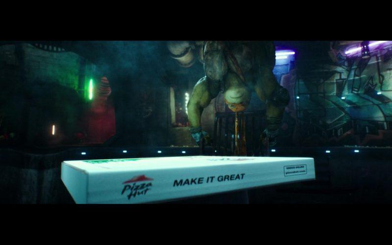 Pizza Hut – Teenage Mutant Ninja Turtles (2014) - Movie Product Placement