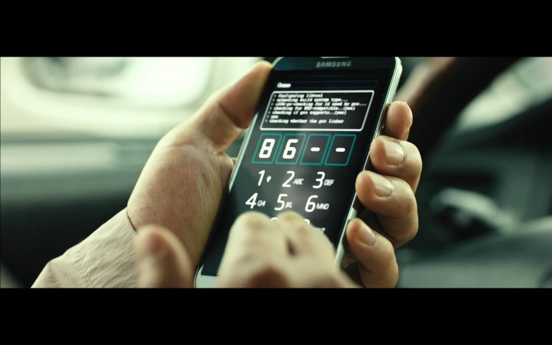 Samsung Smartphones – The Con Artists (2014) - Movie Product Placement