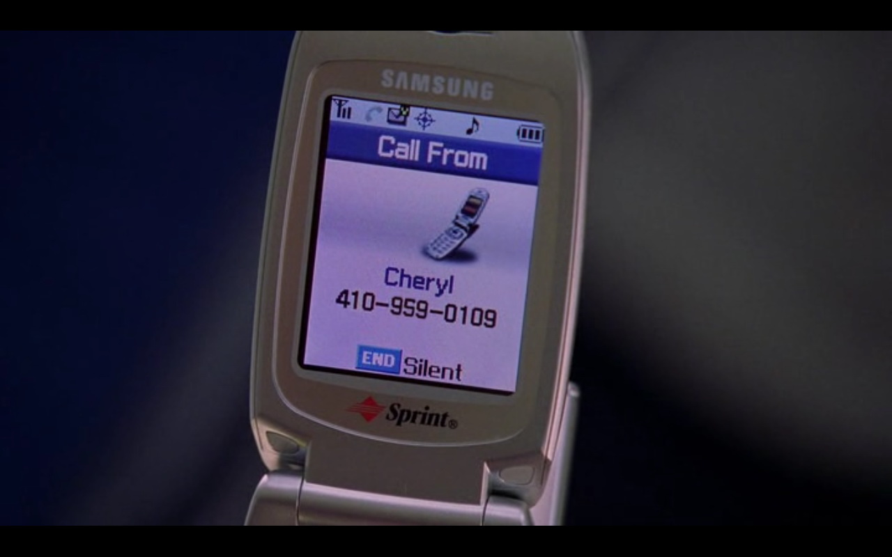 samsung and sprint the wire tv show