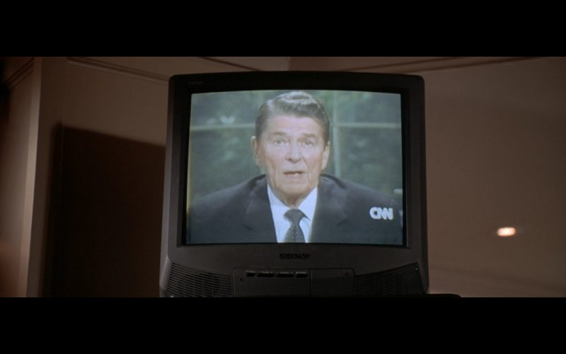 Sony TV and CNN - American Psycho (2000) Movie Product Placement