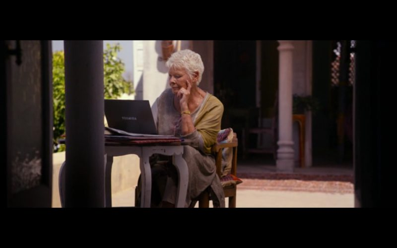 Toshiba Notebook – The Second Best Exotic Marigold Hotel (2015)