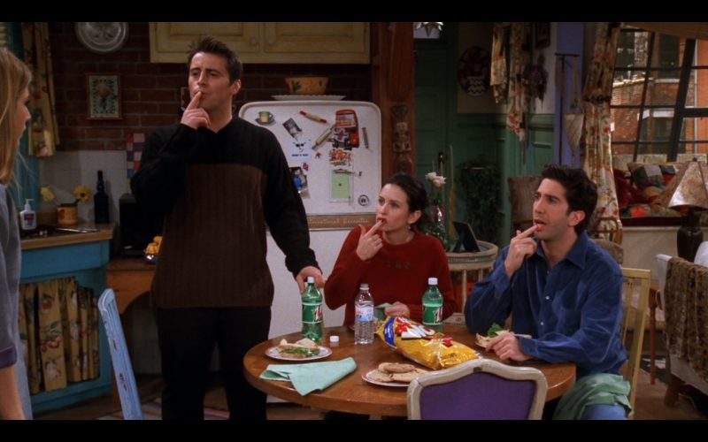 7UP - Friends - TV Show Product Placement