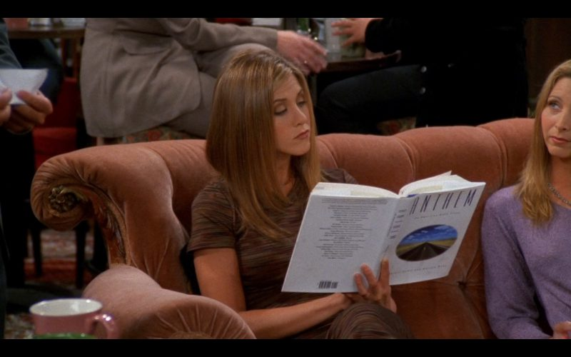 Anthem Book Product Placement in Friends TV Series (1)
