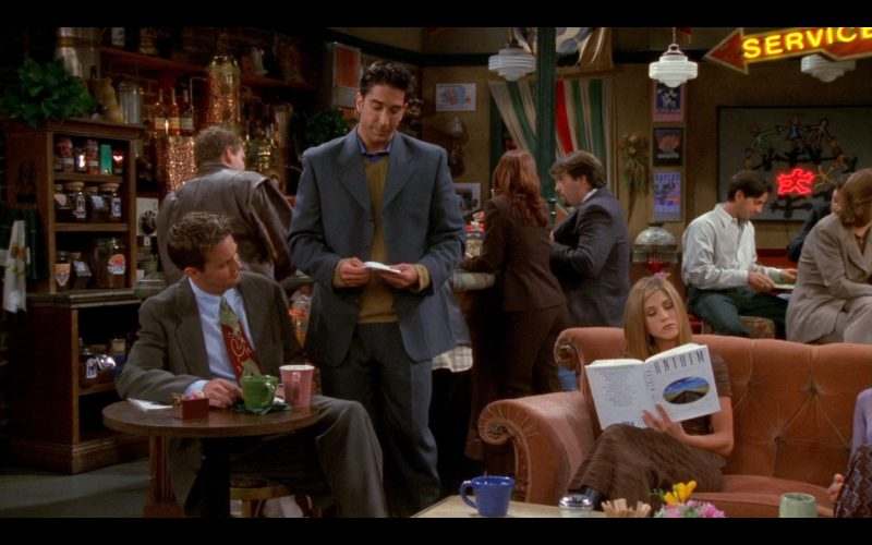 Anthem (Book) - Friends - TV Show Product Placement