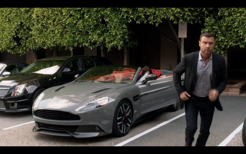 Aston Martin Vanquish - Ray Donovan TV Show Product Placement