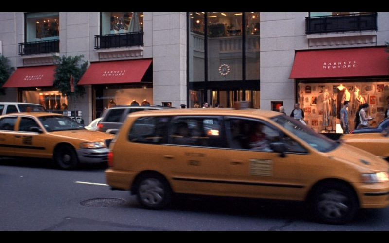 Barneys New York - Friends TV Show Product Placement