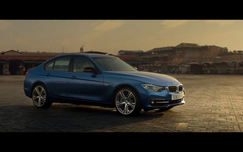 Blue BMW 3 Series – Mission Impossible – Rogue Nation (2015)