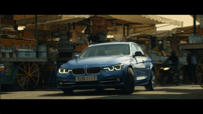 Blue BMW 3 Series – Mission: Impossible – Rogue Nation (2015) Movie Product Placement