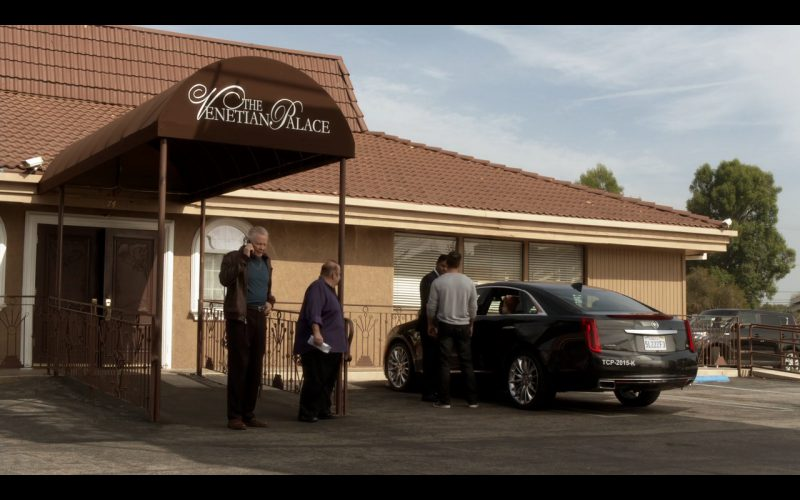 Cadillac CTS - Ray Donovan TV Show Product Placement