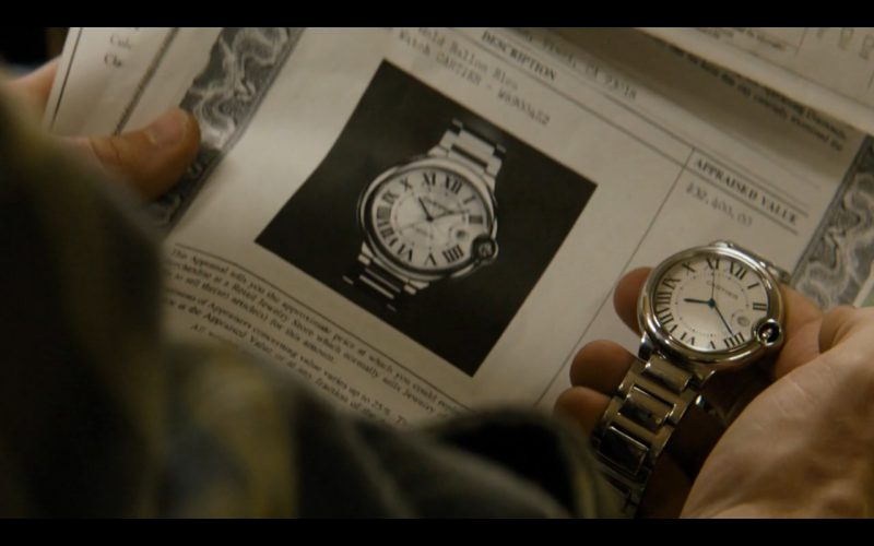 Cartier Watches - True Detective TV Show Product Placement
