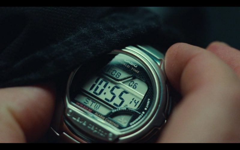 Casio Wave Ceptor Watches – Non-Stop (2014) Movie Product Placement