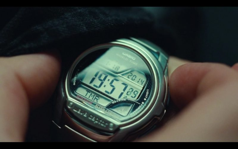 Casio Wave Ceptor Watches – Non-Stop (2014) - Movie Product Placement