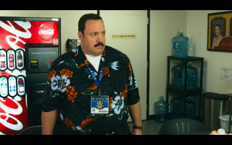 Coca-Cola - Paul Blart: Mall Cop 2 (2015) Movie Product Placement