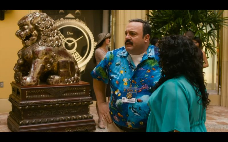 Dior – Paul Blart: Mall Cop 2 (2015) Movie Product Placement