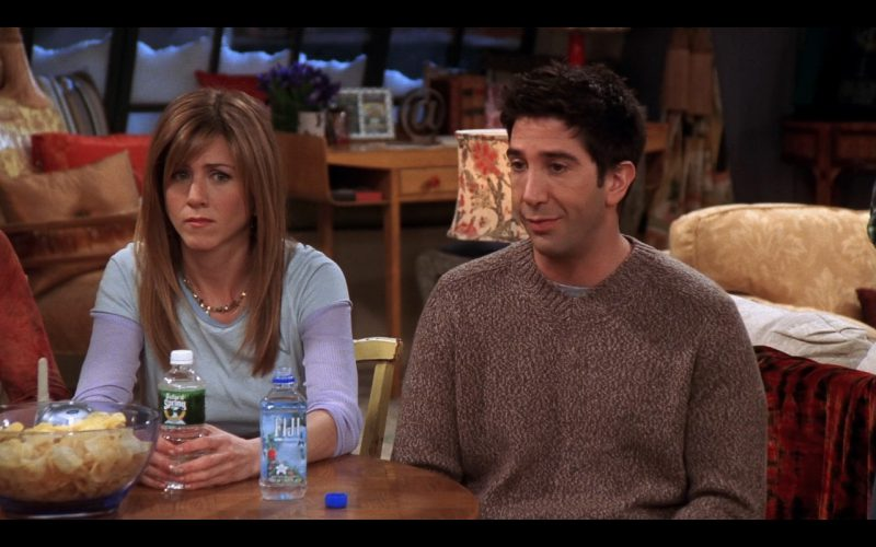 Fiji Water and Poland Spring - Friends TV Show Product Placement