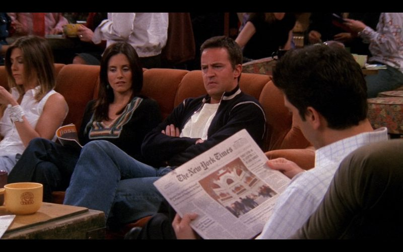 Friends TV Series Product Placement - The New York Times daily newspaper