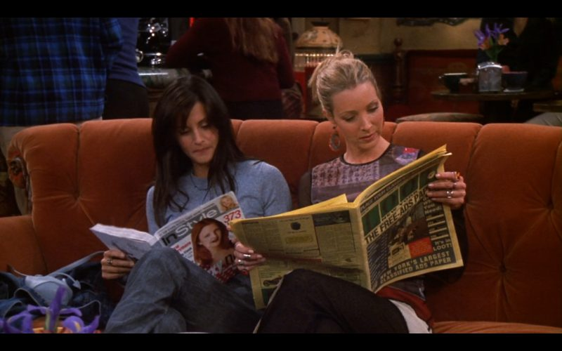 InStyle - Friends - TV Show Product Placement