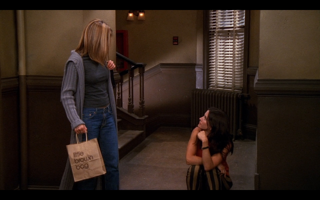 57aad9d4121 Little Brown Bag - Friends TV Show Product Placement