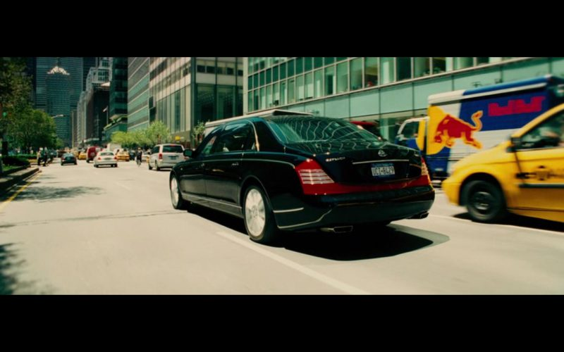 Maybach 62 – Limitless (2011) Movie Product Placement