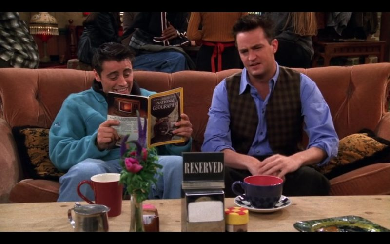 National Geographic - Friends TV Show Product Placement