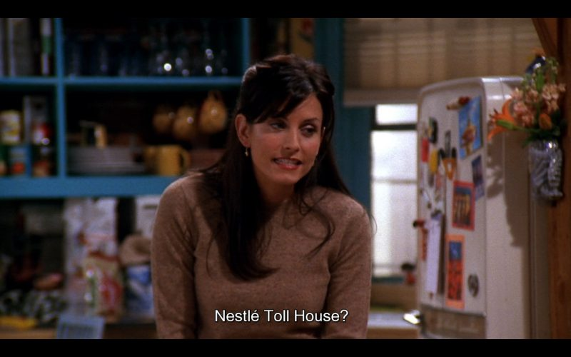 Nestlé Toll House Cookies - Friends TV Show Product Placement