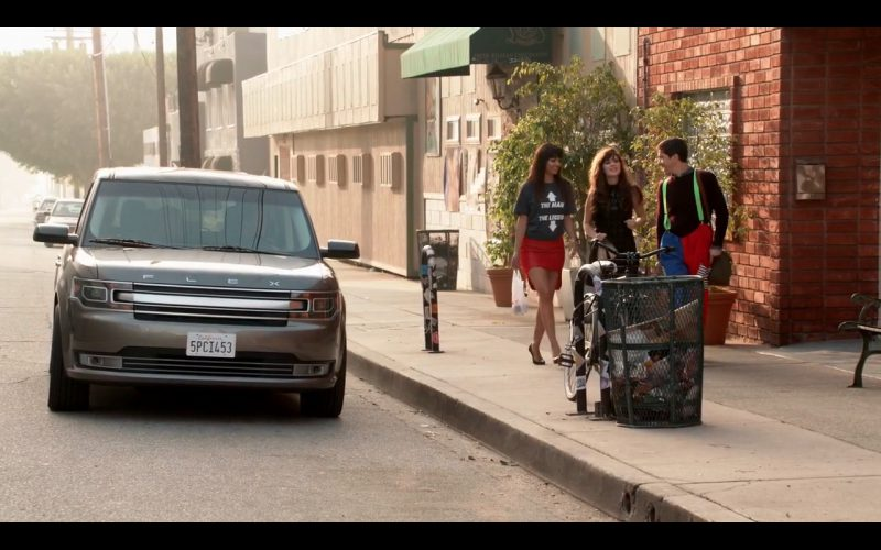 New Girl - Ford Flex - TV Show Product Placement