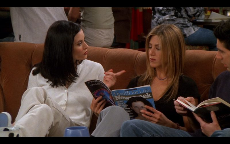 Newsweek - Friends TV Show Product Placement