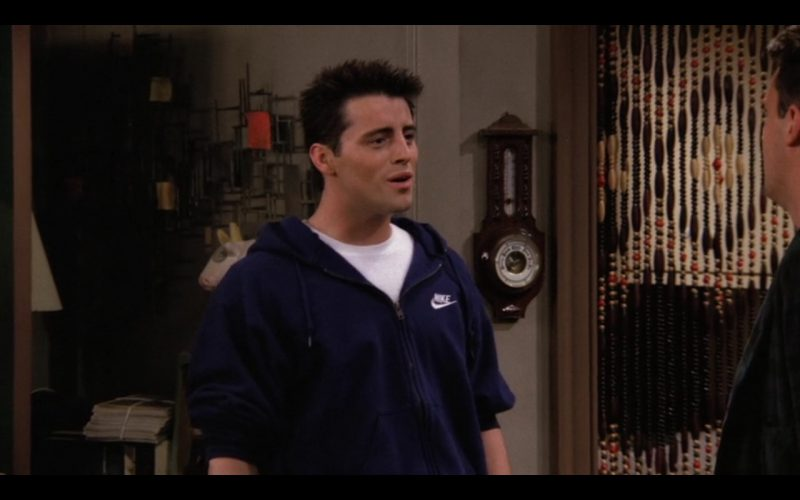 Nike Hoodie For Men - Friends TV Show Product Placement