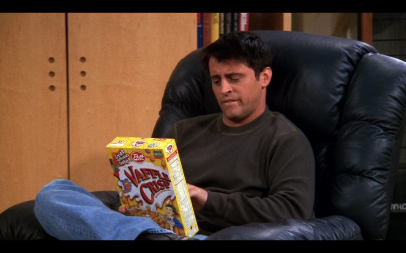 Post Foods Waffle Crisp - Friends - TV Show Product Placement