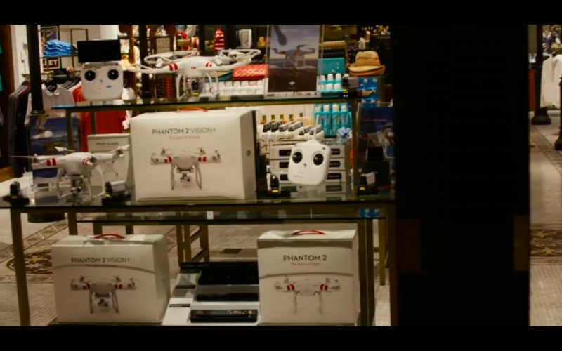 Quadcopter DJI Phantom 2 Vision – Paul Blart Mall Cop 2 – Product Placement (1)