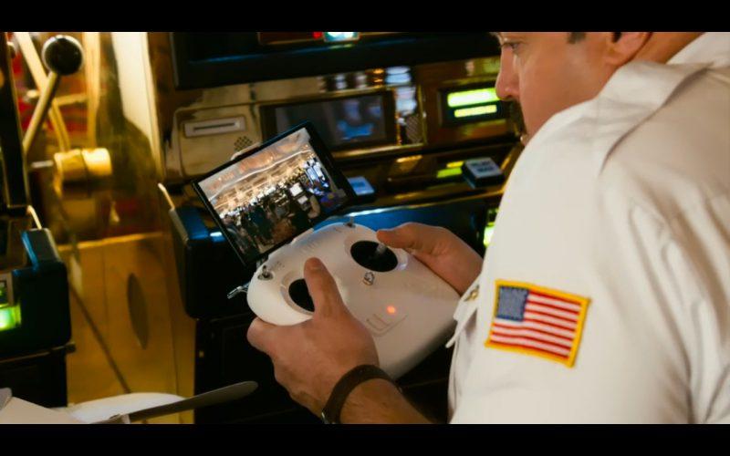 Quadcopter DJI Phantom 2 Vision - Paul Blart: Mall Cop 2 (2015) Movie Product Placement