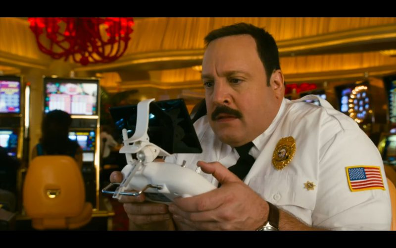 Quadcopter DJI Phantom 2 Vision - Paul Blart: Mall Cop 2 (2015) Movie Product Placement