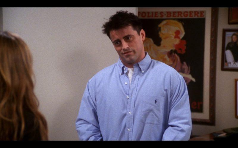 Ralph Lauren Shirt - Friends - TV Show Product Placement