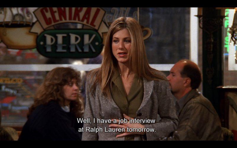 Ralph Lauren (Rachel's Work) - Friends TV Show Product Placement